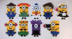 Minions hama perler beads - Le blog de Marie-Louise