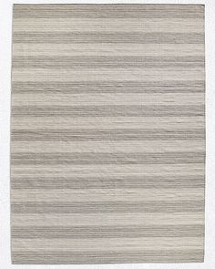 Perennials® Heathered Stripe Outdoor Rug - Fog