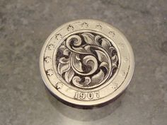 Hand Engraved Hobo Nickel by Jack by JelliesJewelry on Etsy, $65.00