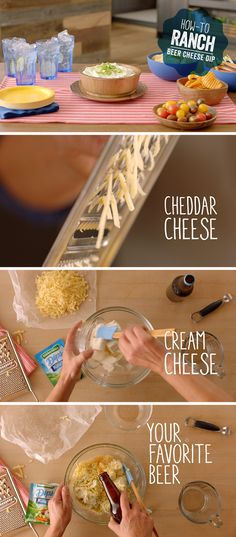 Is there anything better than cheese + beer? No there isn't. Wow your friends with this super easy and fun appetizer that only takes a few minutes to make!   Recipe link: http://hiddnval.ly/zGjeXF