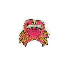 Crab brooche