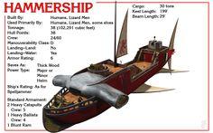 Spelljammer Ship - Hammership