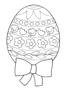 Easter Eggs Printable Coloring Pages Egg Template Colouring Sheets