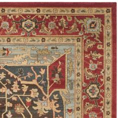 Safavieh Mahal Red/ Red Rug (9' x 12')