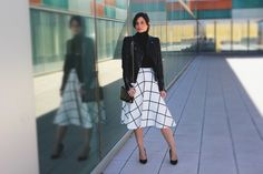 Front Row, New Look, Midi Skirt, Dresses For Work, Outfit, Skirts, Blog, Clothes, Style