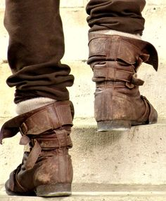 Merlin's boots.