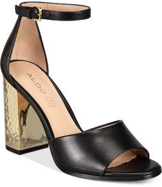 0e23732f7db Aldo Women s Nilia Two-Piece Block-Heel Sandals Women s Shoes Block Heel  Shoes