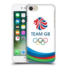 Official Team GB British Olympic Association Fluid Bands 3 Rio Hard Back Case for Apple iPhone 7 -- Awesome products selected by Anna Churchill