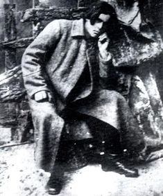 "Nestor Ivanovych Makhno or Bat'ko (""Father"") Makhno, 1918. UKR anaracho-communist. Died in exile in Paris at 45."