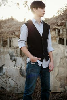Teenage boy photoshoot. {Brooke Kelly Photography} I'm partial since this is my extremely good-looking son. ;)