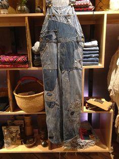 "kvatek: "" Brown Tabby Works at Space Ninety 8 "" Blue Jeans, Blue Denim, Overalls, Ralph Lauren, Vintage Denim, Brown, Palace, How To Wear, Pants"