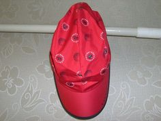 New TREBISE Golf OutWear Hats Caps 55 RED for Women