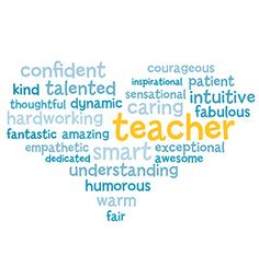 Word Cloud Poster   9 Quick and Easy Teacher Appreciation Gifts   PTOToday.com