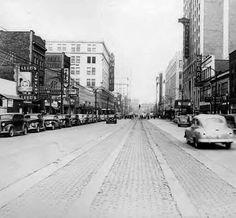 Main St. Akron Ohio 1947