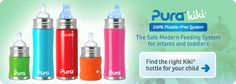 Stainless Steel Water Bottles and Accessories - Kiki - Infant Water Bottles