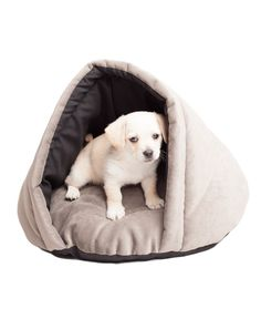 Gray Eskimo Pet Bed//