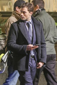 Jamie Dornan as Christian Grey filming Fifty Shades Darker & Freed http://everythingjamiedornan.com/gallery/thumbnails.php?album=185