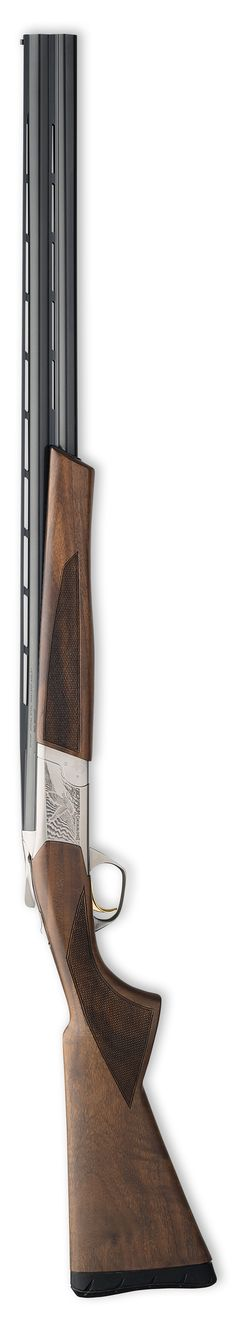 Browning Cynergy Field MSRP $1,870 Flat Inflex Technology recoil pad, satin varnish finish, silver nitride finish low profile steel receiver, matte blued barrels, ivory front and mid bead sights