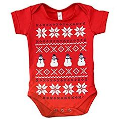 8a1fedcc7881 25 Best Baby s Ugly Christmas Onesies images