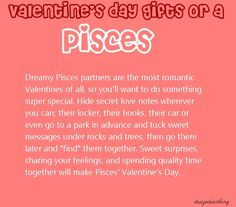 Pisces, I wish someone would do this for me