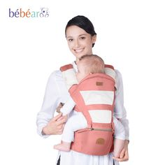 (31.12$)  Watch now - http://aixrl.worlditems.win/all/product.php?id=32546297148 - Bebear Hipseat Mochila Ergonomica Portabebe Baby Carrier 360 Baby Kangaroo Backpack Baby Wrap Ring Sling Slings for Babies