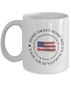We've just uploaded a great mug Patriotic Coffee ... Check it out http://formugs.com/products/patriotic-coffee-mug-gift-home-sweet-home-south-dakota-in-my-soul-gift-for-south-dakota-lover?utm_campaign=social_autopilot&utm_source=pin&utm_medium=pin