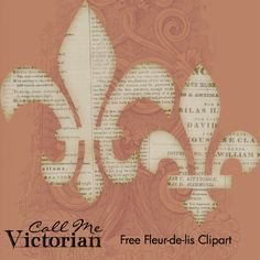 Free Fleur-de-lis Clipart
