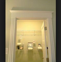 door facings mouldings - Google Search & Front doors - idea to add molding to top of interior door frame ... Pezcame.Com