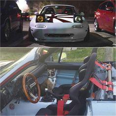 """✔ @cheezy_popcorn / Photo: @pham_ryan #TopMiata | TopMiata.com | #mazda #miata #mx5 #eunos #roadster"""