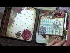 "Album using ""Mad Tea Party"" by Marion Smith - YouTube Thanks Helen, great ideas…"