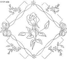 WB Surprise gift 3 roses g by love to sew, via Flickr