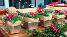 4 Fun Ways to Package Holiday Baking | Steven and Chris | 'Tis the season for holiday baking! Wrap up your treats and give them as gifts with these chic DIYs.