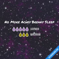 No More Achey Breaky Sleep - Essential Oil Diffuser Blend
