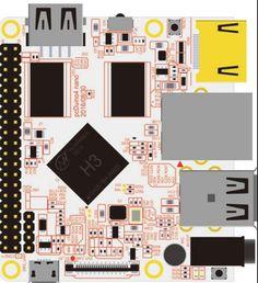 Fast Free Ship Based ARM board for PcDuino4 Nano Demo Board