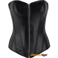 BLACK FAUX LEATHER ZIPPER CORSET http://www.discreettiger.com.au/corsets 1980's inspiration.  As you proudly strut your stuff into the battle dome of the wastelands in your fantastic black faux leather corset top that you have decorated with feathers and bones. The uniqueness of this top just seems to conjure up all kinds of mad max themed fantasies, but in reality, will have onlookers in awe of your striking allure. @discreettiger #80slook #fauxleather #leatherfashion #1980's