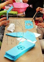 Arts and crafts make a fun and inexpensive entertainment option for nursing home residents.