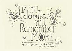 If you Doodle.... Art Prints by Cat Scott - Shop Canvas and Framed Wall Art Prints at Imagekind.com