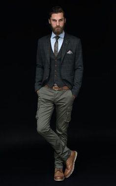 La formalidad no está peleada con la tendencia en cortes o estilo ¿qué te parece esta sugerencia?