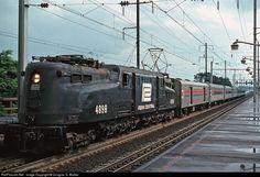 RailPictures.Net Photo: PC 4898 Penn Central GG-1 at Lanham, Maryland by Douglas G. Walker