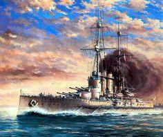 Dreadnought Viribus Unitis 1912 BFD