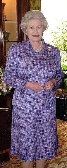 Global Icon, Commonwealth, Queen Elizabeth Ii, British Isles, Royals, United Kingdom, February, Mary, Floral