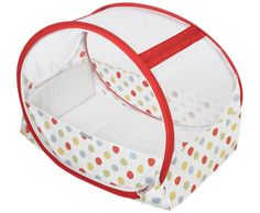 The Pop-Up Travel cot is a lightweight and compact folding travel cot. Designed to use on holiday and for staying away overnight, this cot offers a clean, safe and comfortable place for your baby to sleep wherever you are. The Pop-Up travel cot opens in seconds and is assembled quickly and easily.