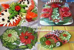 страхотна слата домат и краставица