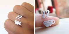 coffee or tea lovers ring.    I need this, I already own the matching broach!