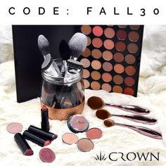 Early Fall Savings! 30% OFF Sitewide — Enjoy early Fall Savings at www.crownbrush.com We're giving you 30% OFF your online purchase! Just enter code FALL30 at checkout and enjoy your savings!