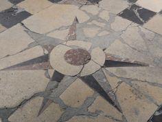 Floor of the Basilica, Saint Quentin. Aisne. France