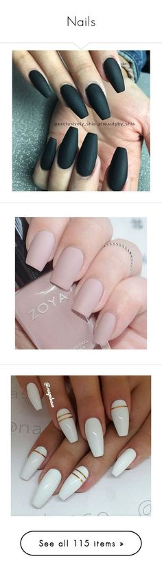 """""""Nails"""" by zhanaewoods on Polyvore featuring beauty products, nail care, nail treatments, nail polish, nails, gel nail care, makeup, unhas, shiny nail polish and nail art #nailcare"""