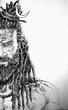 Shankara by Puneet Shukla Aghori Shiva, Rudra Shiva, Lord Shiva Hd Wallpaper, Hanuman Wallpaper, Angry Lord Shiva, Lord Shiva Sketch, Shiva Tattoo Design, Lord Shiva Hd Images, Hanuman Images