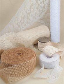 YUTA E PIZZO! Nastri, rotoli, bobine per le tue decorazioni homemade
