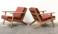 $1950 each plank chairs.. (change fabric) Grandfather axe
